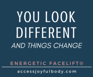 I offer access energetic facelift London