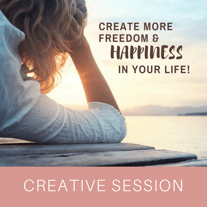 I offer creative life coaching