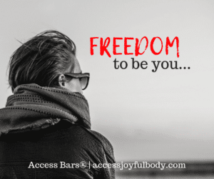 I offer access bars to alleviate anxiety and depression