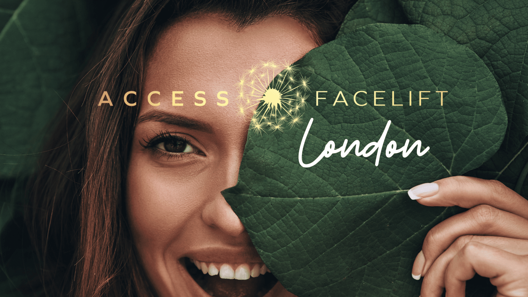I offer access face lift london