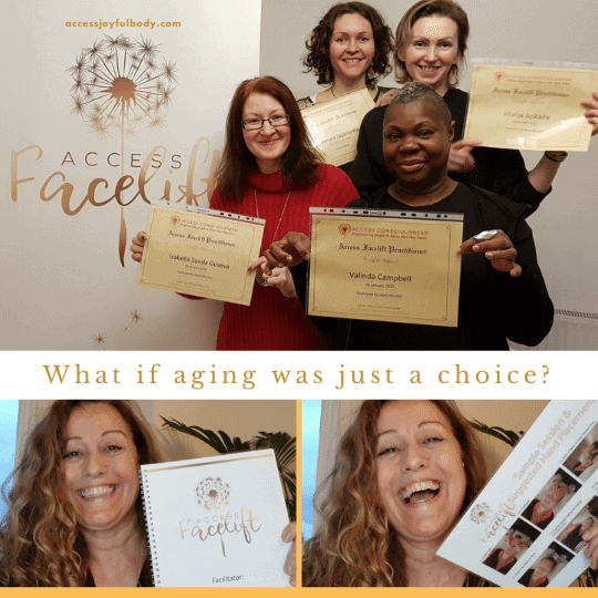Access energetic facelift class participants with certificates