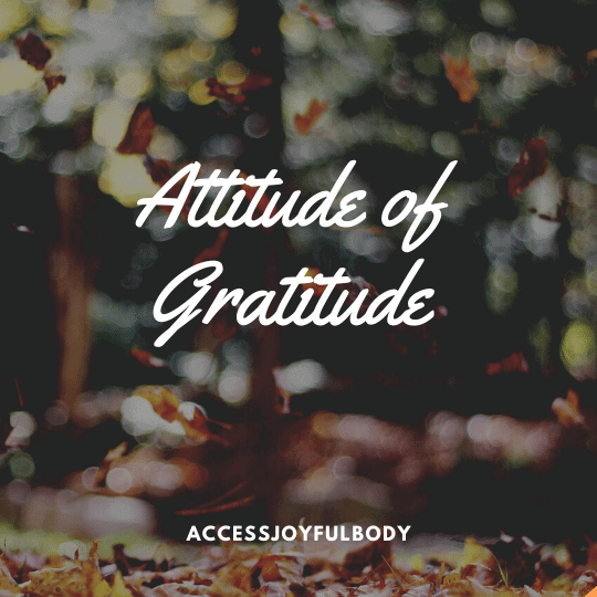 gratitude how miracles occur