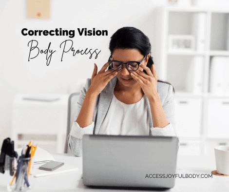 correcting vision process