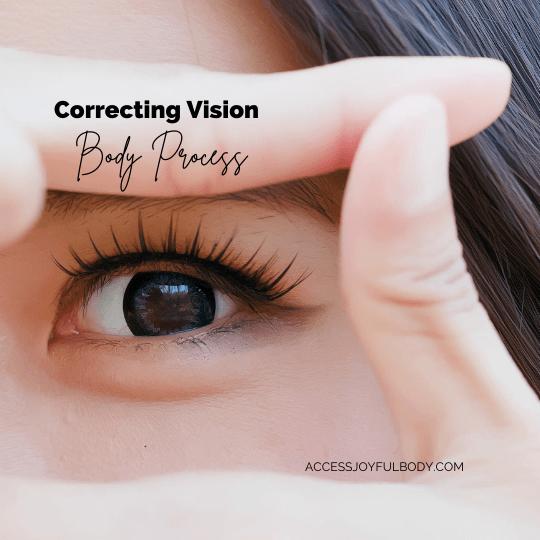 healthy eyes correcting vision
